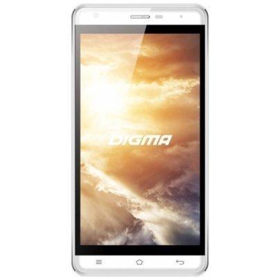 Смартфон Digma VOX S501 белый (VS5002PG (white)) смартфоны digma смартфон s505 3g vox белый