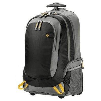 Сумка для ноутбука HP 15.6 Roller Backpack Black (J6X32AA) сумка для ноутбука hp 14 0 ladies slm black tote t7b35aa