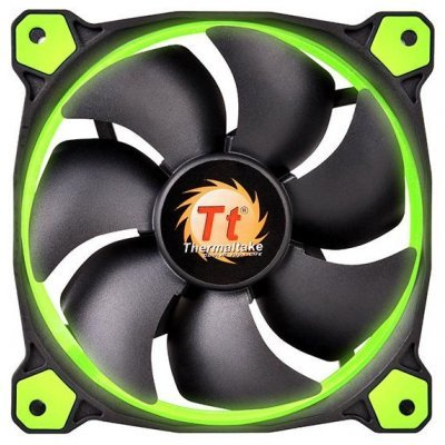 где купить Система охлаждения корпуса ПК Thermaltake Riing 12 LED Green (CL-F038-PL12GR-A) дешево