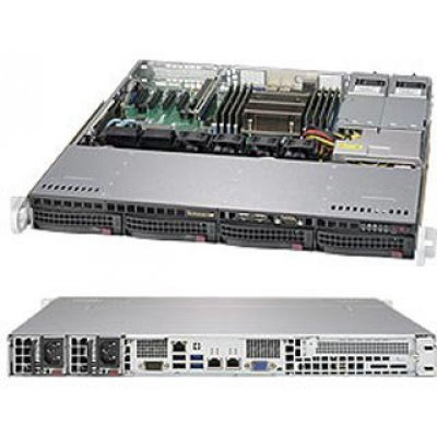 Серверная платформа SuperMicro SYS-5018R-MR (SYS-5018R-MR) цена 2017