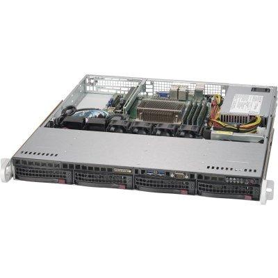 Серверная платформа SuperMicro SYS-5019S-MN4 (SYS-5019S-MN4) платформа supermicro sys 5019s m2 raid 1x350w
