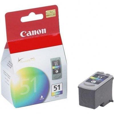 Картридж (0618B0025) Canon CL-51 цветной (0618B025)Картриджи для струйных аппаратов Canon<br>color для iP2200/MP150/MP170/MP450/iP6220D/iP6210D цветной<br>