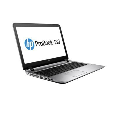 Ноутбук HP ProBook 450 G3 (W4P61EA) (W4P61EA)Ноутбуки HP<br>UMA i5-6200U DDR4 450 / 15.6 HD SVA AG / 4GB DDR4 1D / 128GB TLC / W7p64W10p / DVD+-RW / 1yw / Webcam / kbd TP / Intel AC 1x1+BT / Sea / FPR<br>
