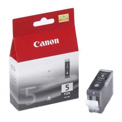 Картридж (0628B024) Canon PGI-5BK черный (0628B024)Картриджи для струйных аппаратов Canon<br>для iP4200/iP5200/MP500/MP800 черный<br>
