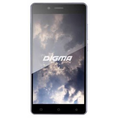 Смартфон Digma S502F 3G VOX 8Gb серый титан (VS5004MG) digma vox s502 3g