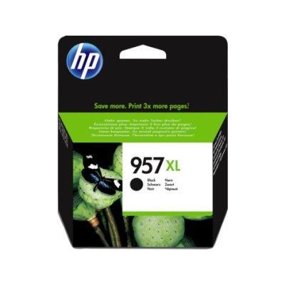 Картридж для струйных аппаратов HP 957XL L0R40AE черный (L0R40AE)Картриджи для струйных аппаратов HP<br>Картридж струйный HP 957XL L0R40AE черный для HP OJP 8720/8730/8210/8725 (3000стр.)<br>