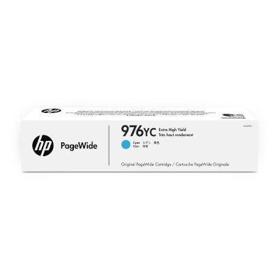 Картридж для струйных аппаратов HP 976YC L0S29YC голубой (L0S29YC)Картриджи для струйных аппаратов HP<br>Картридж струйный HP 976YC L0S29YC голубой для HP PW Pro 5777/552 (16000стр.)<br>