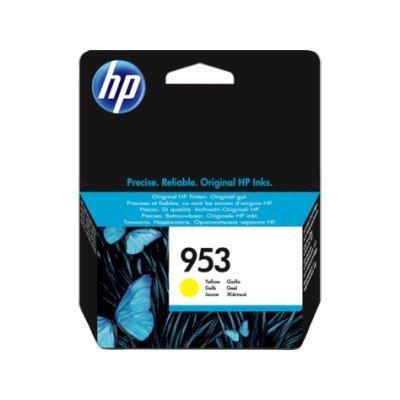 Картридж для струйных аппаратов HP 953 F6U14AE желтый (F6U14AE)Картриджи для струйных аппаратов HP<br>Картридж струйный HP 953 F6U14AE желтый для HP OJP 8710/8715/8720/8730/8210/8725 (700стр.)<br>