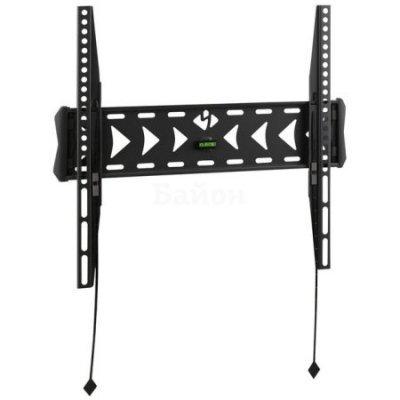 Кронштейн для ТВ и панелей Kromax FLAT-3 черный (FLAT-3 черный)Кронштейн для ТВ и панелей Kromax<br>Кронштейн для телевизора Kromax FLAT-3 черный 22-65 макс.55кг настенный фиксированный<br>
