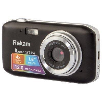 Цифровая фотокамера Rekam iLook S755i шампань (1108005123) цифровая фотокамера rekam ilook s955i ilook s955i
