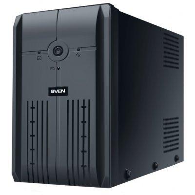 Источник бесперебойного питания SVEN Power Pro+ 600 (SV-013837)Источники бесперебойного питания SVEN<br>интерактивный ИБП<br>1-фазное входное напряжение<br>выходная мощность 600 ВА / 350 Вт<br>4 мин работы при полной нагрузке<br>13 мин работы при половинной нагрузке<br>выходных разъемов: 2<br>разъемов с питанием от батареи: 2<br>время зарядки 8 ч<br>