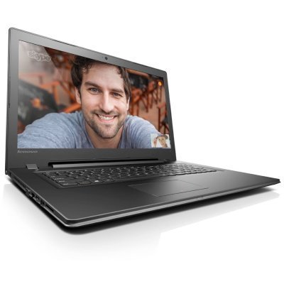 Ноутбук Lenovo IdeaPad 300-17ISK (80QH009QRK) (80QH009QRK)Ноутбуки Lenovo<br>Ноутбук Lenovo IdeaPad 300-17ISK Pentium 4405U/4Gb/1Tb/DVD-RW/AMD Radeon R5 M330 2Gb/17.3/HD+ (1600x900)/Windows 10/black/WiFi/BT/Cam<br>