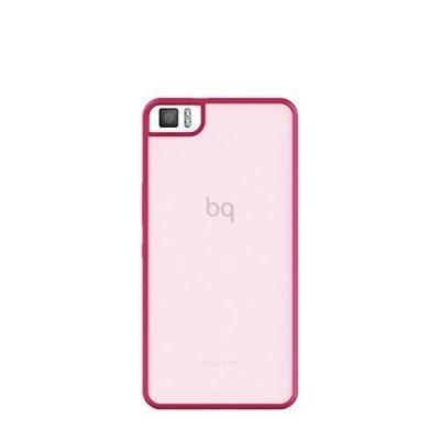 Чехол для смартфона BQ Aquaris M5 Pink Gummy (E000581)Чехлы для смартфонов BQ<br>Aquaris M5 Pink Gummy<br>