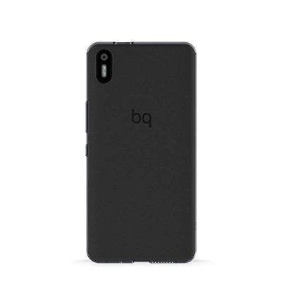 Чехол для смартфона BQ Aquaris X5 Black Gummy (E000635)Чехлы для смартфонов BQ<br>Aquaris X5 Black Gummy<br>