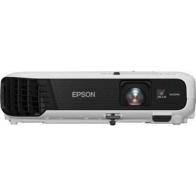Проектор Epson EB-S04 (V11H716040)Проекторы Epson<br>портативный проектор технология LCD x3 разрешение 800x600 световой поток 3000 лм контрастность 15000:1 подключение по VGA (DSub), HDMI вывод изображения с USB-флэшек вес 2.4 кг<br>