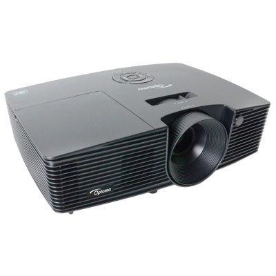 Проектор Optoma DS344 (95.71A01GC1E)Проекторы Optoma<br>портативный проектор технология DLP поддержка 3D разрешение 800x600 световой поток 3000 лм контрастность 18000:1 подключение по VGA (DSub), HDMI вывод изображения с USB-флэшек вес 2.35 кг<br>