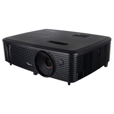 Проектор Optoma DS347 (95.71P01GC1E)Проекторы Optoma<br>портативный проектор технология DLP поддержка 3D разрешение 800x600 световой поток 3000 лм контрастность 20000:1 подключение по VGA (DSub), HDMI вывод изображения с USB-флэшек вес 2.17 кг<br>
