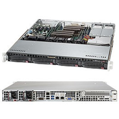 Серверная платформа SuperMicro SYS-6018R-MTR (SYS-6018R-MTR)Серверные платформы SuperMicro<br>Платформа SuperMicro SYS-6018R-MTR 3.5 C612 1G 2P400W<br>