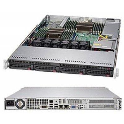 Серверная платформа SuperMicro SYS-6017R-TDT+ (SYS-6017R-TDT+)Серверные платформы SuperMicro<br>Платформа SuperMicro SYS-6017R-TDT+ 3.5 SATA C602 10G 2P 1x600W (SYS-6017R-TDT+)<br>