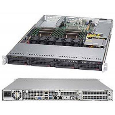 Серверная платформа SuperMicro SYS-6018R-TDW (SYS-6018R-TDW)Серверные платформы SuperMicro<br>Платформа SuperMicro SYS-6018R-TDW 3.5 С612 1G 2P600W<br>