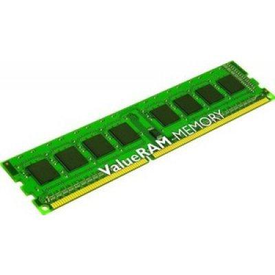 Модуль оперативной памяти ПК Kingston KVR13LR9S8/4 (KVR13LR9S8/4)Модули оперативной памяти ПК Kingston<br>4096 Мб, DDR-3 DIMM, 10600 Мб/с, CL9, ECC, буферизованная<br>