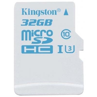 Карта памяти Kingston SDCAC/32GB (SDCAC/32GB)Карты памяти Kingston<br>карта памяти microSDHC, Class 10, объем 32 Гб, скорость чтения 90 Мб/с, скорость записи 45 Мб/с, в комплекте адаптер на SD<br>