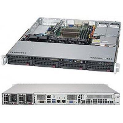 Серверная платформа SuperMicro SYS-5019S-MR (SYS-5019S-MR)Серверные платформы SuperMicro<br>Платформа SuperMicro SYS-5019S-MR RAID 2x400W (SYS-5019S-MR)<br>