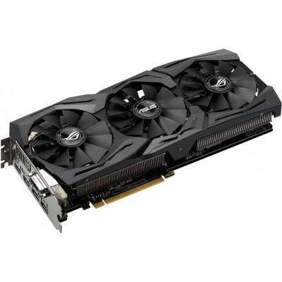Видеокарта ПК ASUS GeForce GTX 1080 1670Mhz PCI-E 3.0 8192Mb 10010Mhz 256 bit DVI 2xHDMI HDCP (90YV09M2-M0NM00) видеокарта 6144mb msi geforce gtx 1060 gaming x 6g pci e 192bit gddr5 dvi hdmi dp hdcp retail