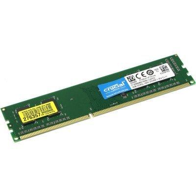 Модуль оперативной памяти ПК Crucial CT25664BD160BJ (CT25664BD160BJ)Модули оперативной памяти ПК Crucial<br>Crucial 2GB DDR3L 1600 MT/s (PC3L-12800) CL11 Unbuffered UDIMM 240pin 1.35V/1.5V Single Ranked<br>
