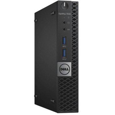 Настольный ПК Dell OptiPlex 7040 (7040-0125) (7040-0125)Настольные ПК Dell<br>Micro Core I5-6500T,8(1x8)GB DDR4, SSD256GB, No ODD, кеув, mouse, Win7Pro64(Win10 Pro Licence), TPM, 3Y Basic NBD<br>