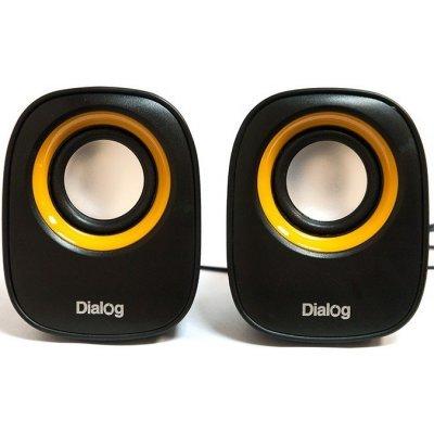 Компьютерная акустика Dialog AC-06UP черные (AC-06UP black) цена и фото