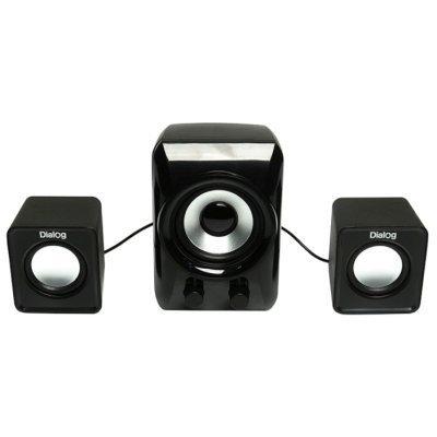 Компьютерная акустика Dialog AC-202UP черный (AC-202UP)