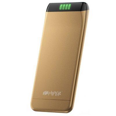 Внешний аккумулятор для портативных устройств HIPER SLS6300 золотистый (SLS6300GOLDEN)