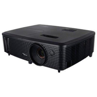 Проектор Optoma W330 (95.72H01GC1E)Проекторы Optoma<br>портативный широкоформатный проектор технология DLP поддержка 3D поддержка HDTV разрешение 1280x800 световой поток 3000 лм контрастность 20000:1 подключение по VGA (DSub), HDMI вес 2.17 кг<br>