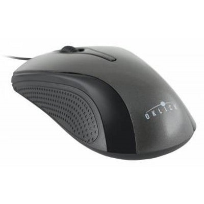 Мышь OKLICK 215M черный/серый (M207 GREY)Мыши OKLICK<br>Мышь Oklick 215M черный/серый оптическая (800dpi) USB (2but)<br>