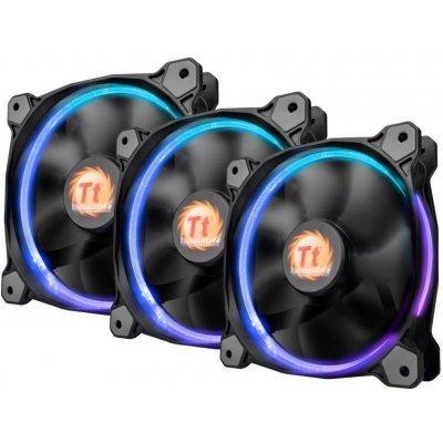 все цены на Система охлаждения корпуса ПК Thermaltake Riing 14 LED RGB (3 Fan Pack) (CL-F043-PL14SW-B) онлайн