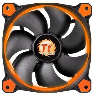Система охлаждения корпуса ПК Thermaltake Riing 14 LED Orange (CL-F039-PL14OR-A)Системы охлаждения корпуса ПК Thermaltake<br>Вентилятор Thermaltake Riing 14 LED 140mm Orange + LNC (CL-F039-PL14OR-A)<br>