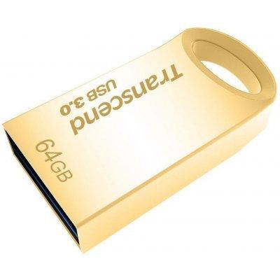 USB накопитель Transcend 64GB JetFlash 710S золотистый (TS64GJF710G)USB накопители Transcend<br>Transcend 64GB JetFlash 710S (Gold) USB 3.0 R/W 90/6 MB/s<br>