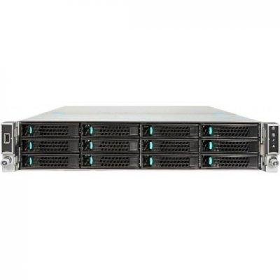 Серверная платформа Intel R2312WTTYSR (R2312WTTYSR943830)Серверные платформы Intel<br>2U, 2 x LGA2011-3, Intel C612, 24 x DDR4, 12 x 2.5/3.5 SATA, 2x10 Gigabit Ethernet (10 Гбит/с), 1100 Вт<br>
