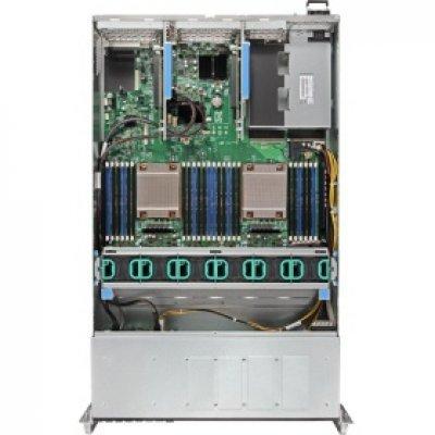 Серверная платформа Intel R2208WTTYC1R (R2208WTTYC1R943828)Серверные платформы Intel<br>2U, 2 x LGA2011-3, Intel C612, 24 x DDR4, 8 x 2.5 SATA, 2x10 Gigabit Ethernet (10 Гбит/с), 1100 Вт<br>