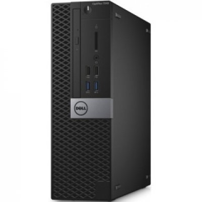 Настольный ПК Dell Optiplex 7040 SFF (7040-0095) (7040-0095)Настольные ПК Dell<br>i7-6700 (3,4GHz) / 8GB (2x4GB) DDR4 / 500GB (7200 rpm) / AMD R7 350X (4GB) / W7 Pro 64 (WIn10 Pro Licence) / TPM /<br>