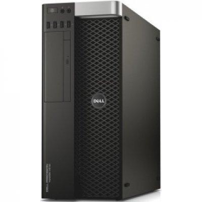 Рабочая станция Dell Precision T7810 (7810-0286) (7810-0286)Рабочие станции Dell<br>E5-2620 v4 (8 cores 2,1GHz) / 32GB (4x8GB) DDR4 / 256GB SSD + 1TB (7200 rpm) / No graphics / W7 Pro 64 (Win10 Pro License) / RAID 9341, TPM / RAID 9341<br>