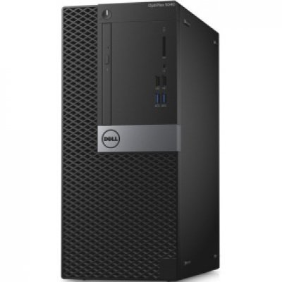 Настольный ПК Dell Optiplex 5040 MT (5040-9976) (5040-9976)Настольные ПК Dell<br>i7-6700 (3,4GHz) / 8GB (2x4GB) / 500GB (7200 rpm) / Intel HD 530 / W7 Pro 64 (WIn10 Pro Licence) / TPM, VGA / VGA<br>