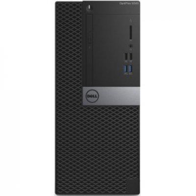Настольный ПК Dell Optiplex 5040 MT (5040-9969) (5040-9969)Настольные ПК Dell<br>i7-6700 (3,4GHz) / 8GB (2x4GB) / 500GB (7200 rpm) / Intel HD 530 / Linux / TPM /<br>