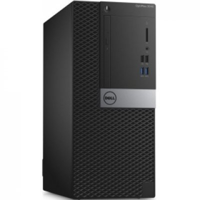 Настольный ПК Dell Optiplex 3040 MT (3040-9884) (3040-9884)Настольные ПК Dell<br>i5-6500 (3,2GHz) / 4GB (1x4GB) / 500GB (7200 rpm) / Intel HD 4600 / Linux / TPM, VGA / VGA<br>