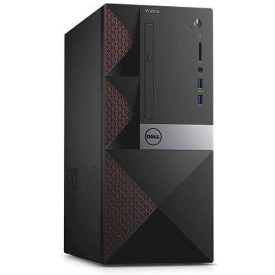 Настольный ПК Dell Vostro 3650 (3650-0328) (3650-0328)Настольные ПК Dell<br>ПК Dell Vostro 3650 MT i5 6400 (2.7)/4Gb/1Tb 7.2k/R9 360 2Gb/DVDRW/CR/Linux/GbitEth черный<br>