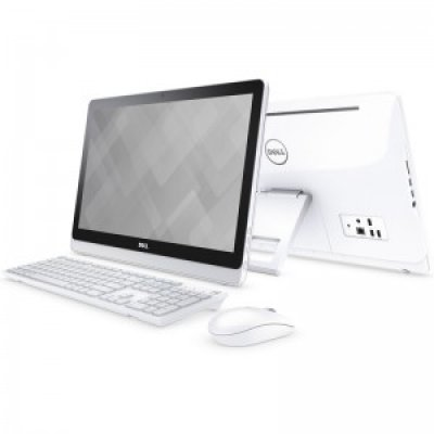 Моноблок Dell Inspiron 3263 (3263-0700) (3263-0700)Моноблоки Dell<br>Моноблок Dell Inspiron 3263 21.5 Full HD i3 6100U (2.3)/4Gb/1Tb 5.4k/R5 A335 2Gb/Windows 10 Home Single Language 64/GbitEth/WiFi/BT/45W/белый 1920x1080<br>