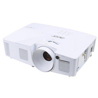 Проектор Acer X125H (MR.JN911.001)Проекторы Acer<br>DLP, 3300 ANSI лм, 20000:1, XGA 1024x768, уровень шума 34 дБ, фокусное расстояние 21.85 - 24.01 мм, портативный, 2.5 кг (MR.JN911.001)<br>