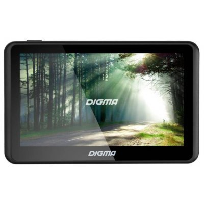 Навигатор GPS Digma ALLDRIVE 500 (ALLDRIVE 500)Навигаторы GPS Digma<br>Навигатор Автомобильный GPS Digma ALLDRIVE 500 5 480x272 4Gb microSD черный Navitel<br>