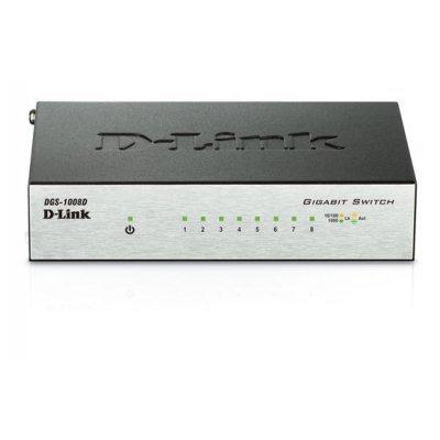 Коммутатор D-Link DGS-1008D/J2A (DGS-1008D/J2A) d link dgs 3120 24tc